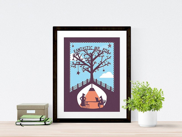 Fantastic Mr. Fox Print