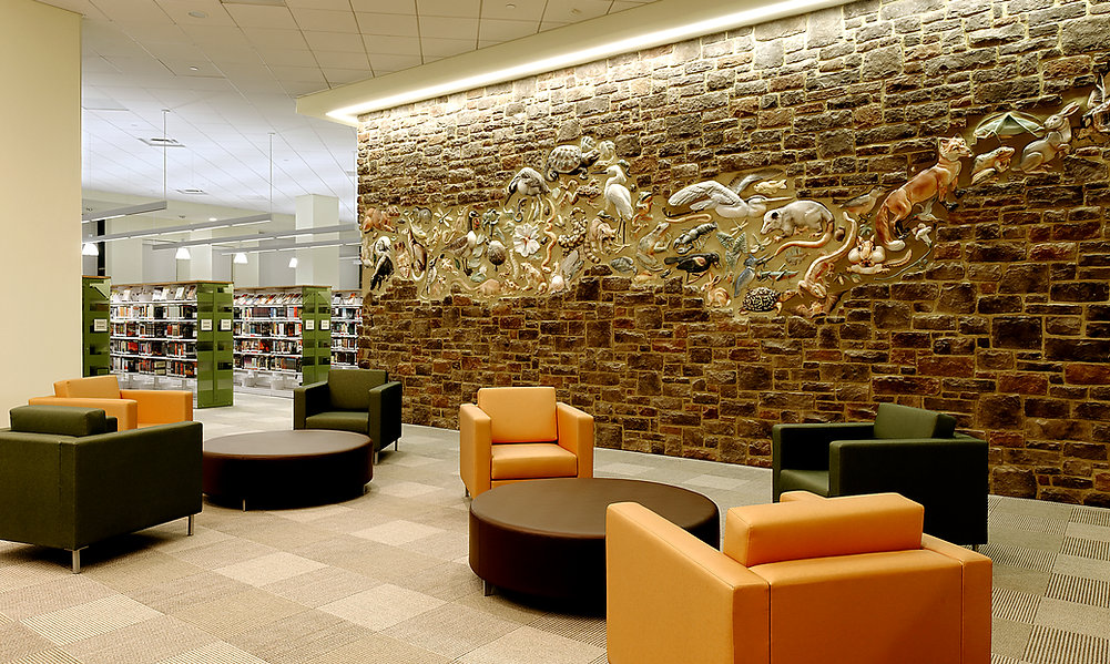 Gum Spring Library Interior