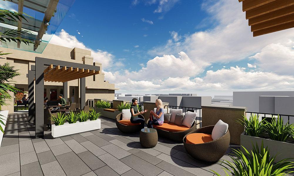 1201 F Street Rooftop Terrace