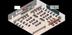 Coffee Shop - Remo Custom Floor Plan