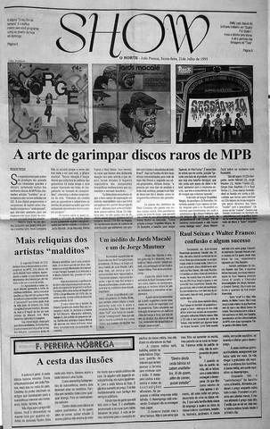 O Norte. 21/07/1995