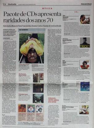 Ilustrada, Folha de S. Paulo. 28/01/2009