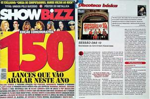 Show Bizz. Janeiro de 1996