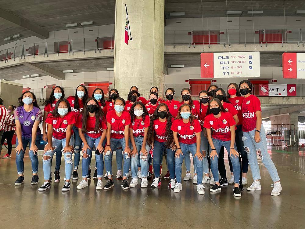 Chivas femenil - Fuerzas Básicas