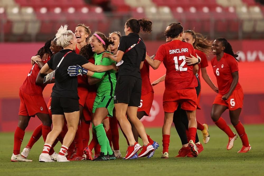 Canadá - women's football - Tokyo 2020