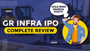 GR INFRA IPO- Complete Review