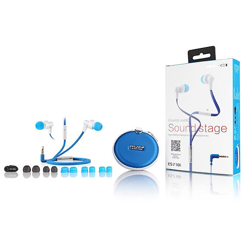 Awei ES710i Noise Isolation Super Bass In-ear Earphone with Mic