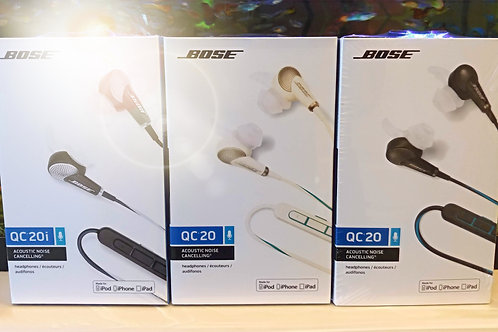 BOSE QC20 Active Noise Cancelling Earphones for iPhone