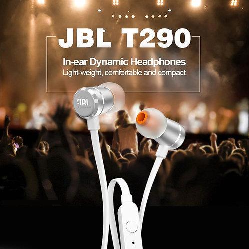 JBL T290 Pure Bass In-Ear Earphones