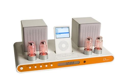 iClassic iPod 30-Pin Docking Station Radio Alarm 10 Watts Speaker