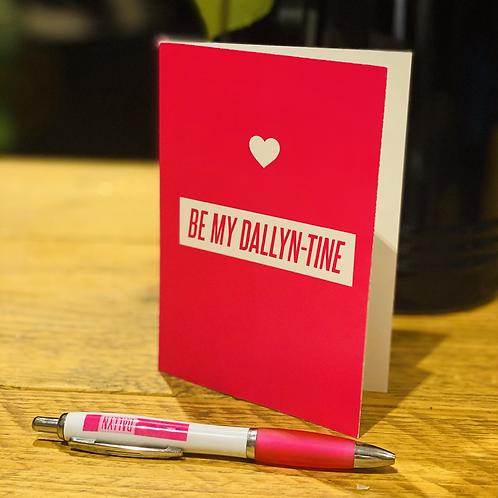 Dallyn-Tine Card
