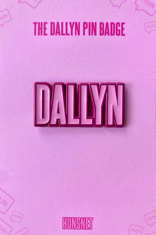 The Dallyn Pin Badge