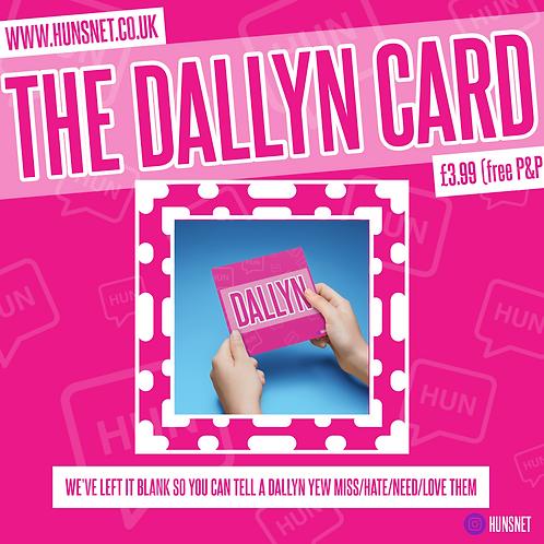 Dallyn (Blank) Card