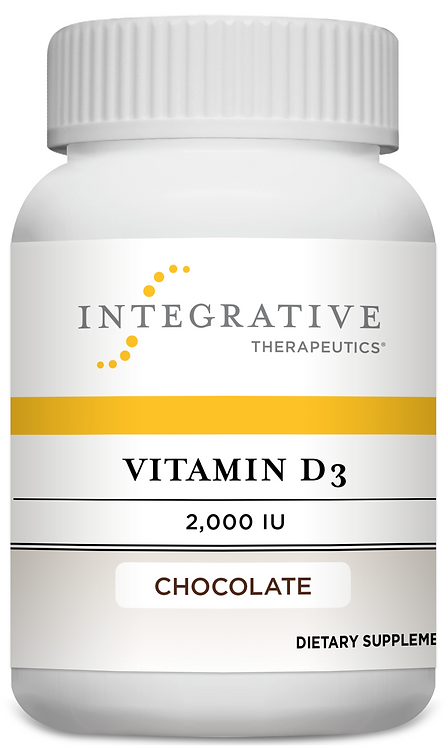 Vitamin D3 2,000 IU 120 tablets