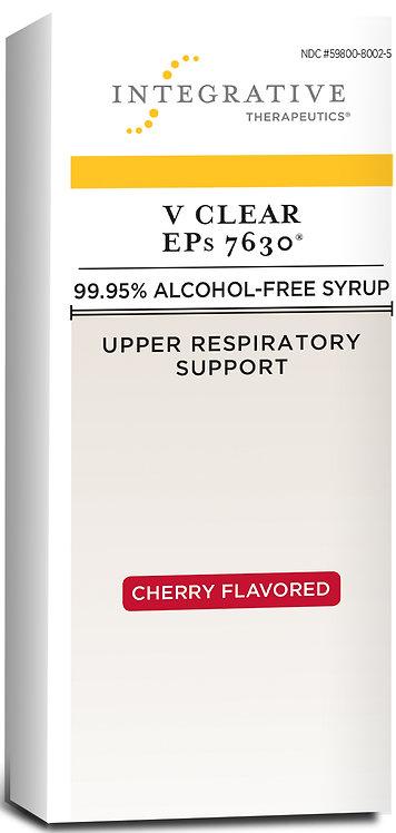 V Clear EPs 7630 Cherry Flavor 4fl oz syrup