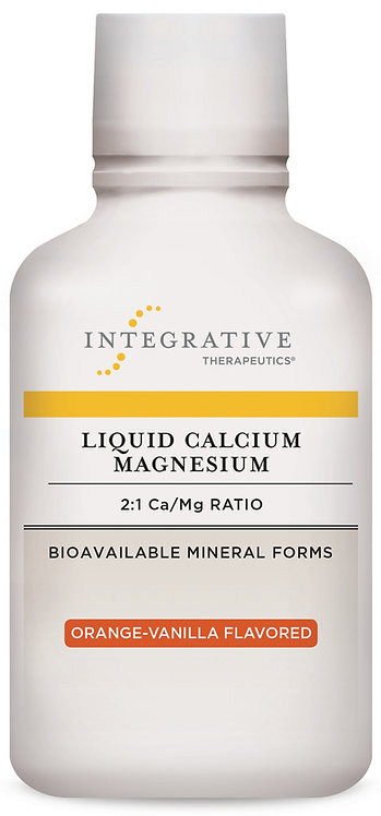Liquid Calcium Magnesium Orange- vanilla flavor 16 FL OZ
