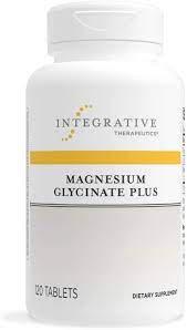 Magnesium Glycinate Plus 120 Tablets