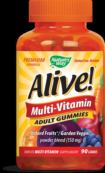 Alive Multi-Vitamin Adult 90 Gummies