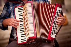 Akkordeon-Spieler