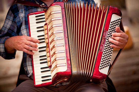 jugador del acordeón