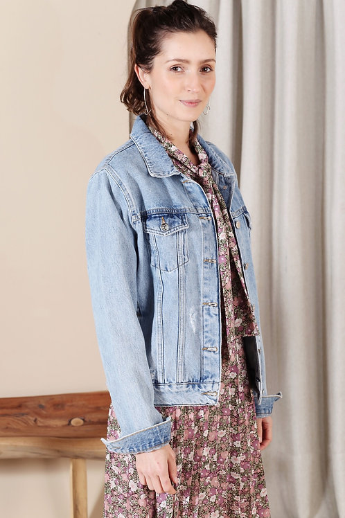 Jaqueta Jeans Esmeral - Outfit4You