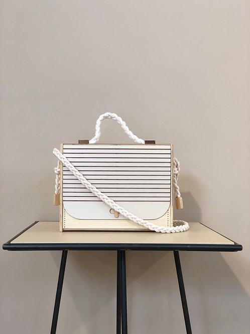 Bolsa Side Bag Quadrado - Lenha
