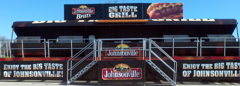 Experiential Marketing Tailgating Displa