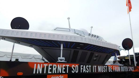 Experiential Marketing UFO Builders Mili