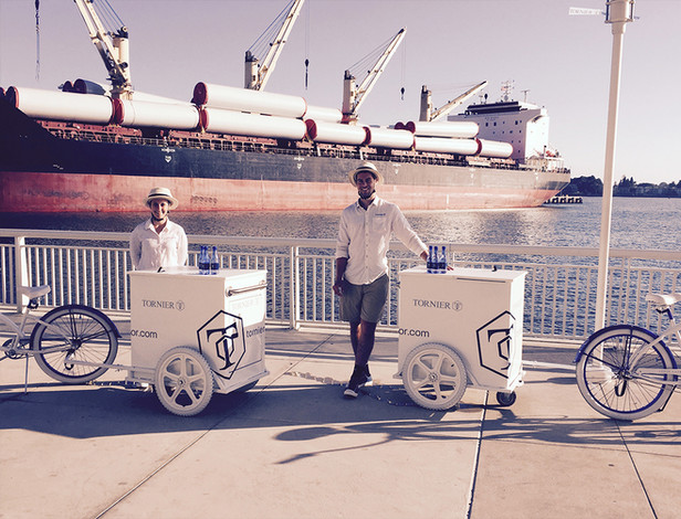 Experiential Marketing Bicycle Towing Mo
