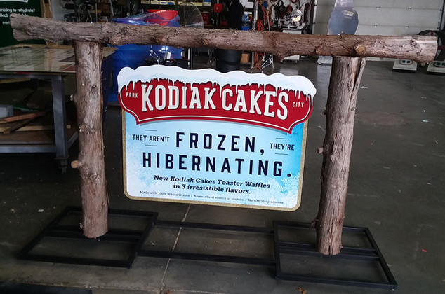 Experiential Marketing Display Sign for