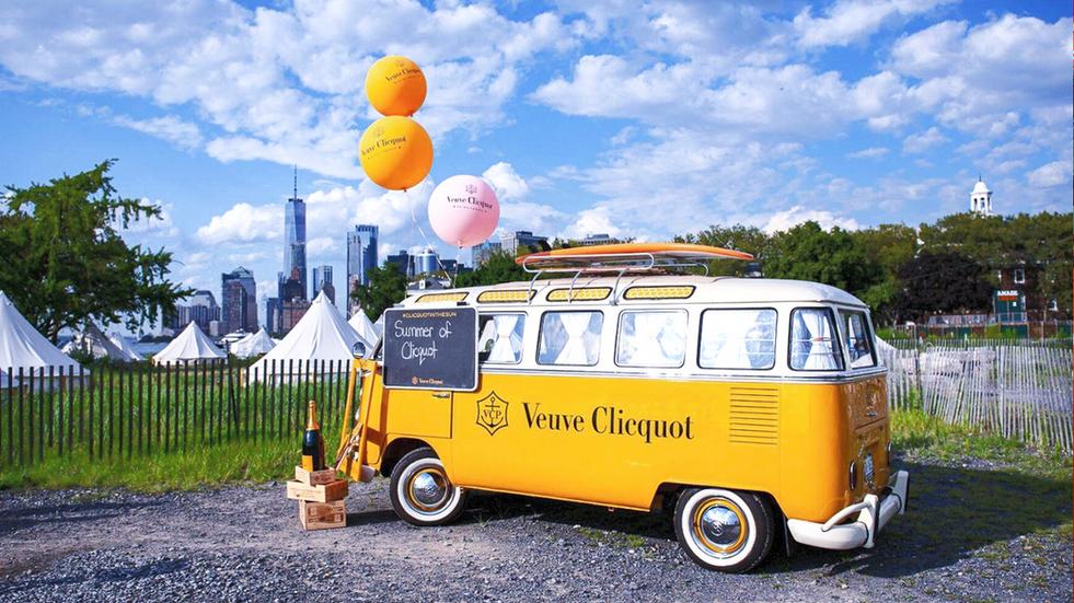 Experiential Marketing VW Van Airstream