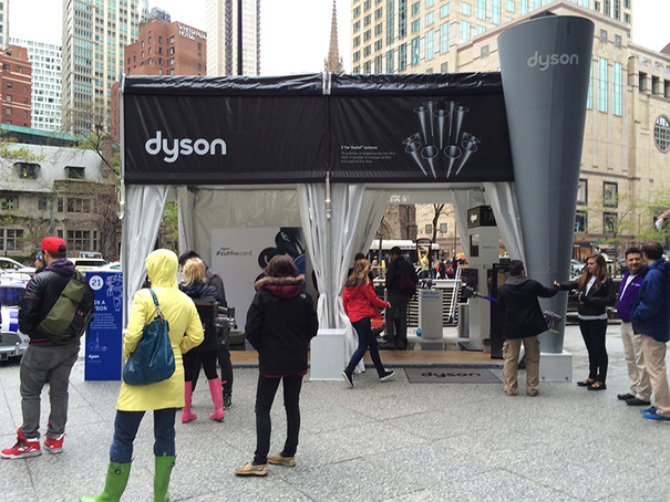 Experiential Marketing Customer Demo Out