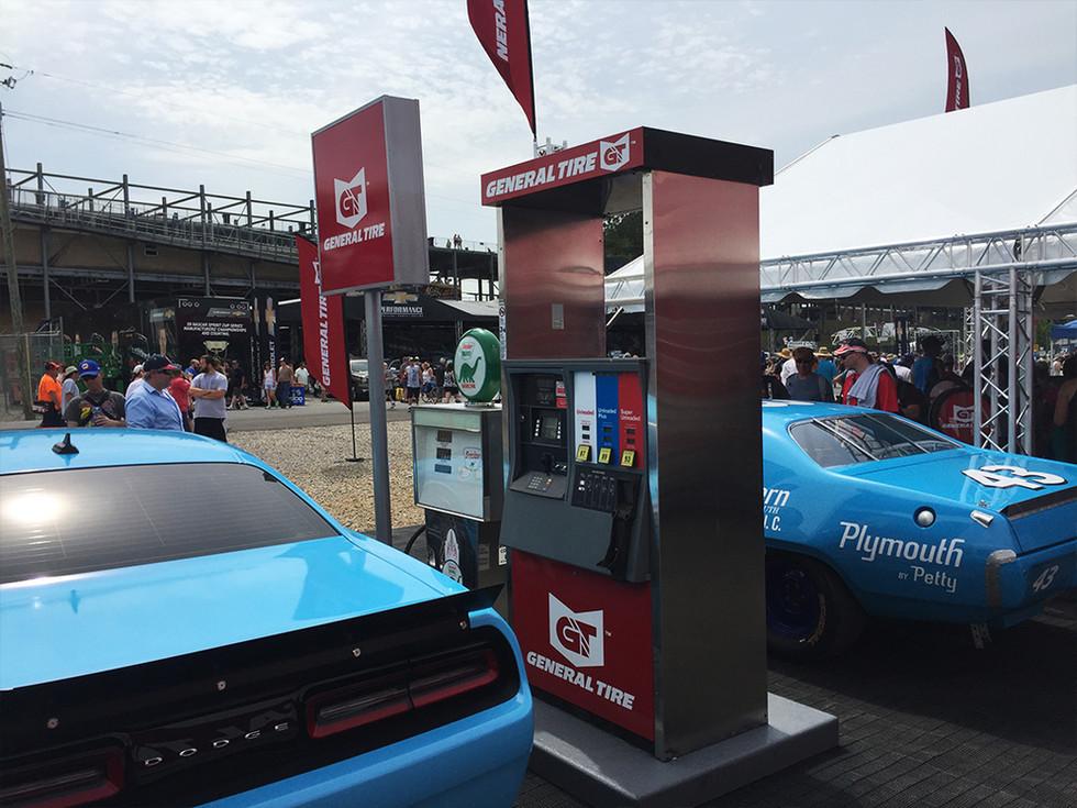 Experiential Marketing Custom Gas Pump f