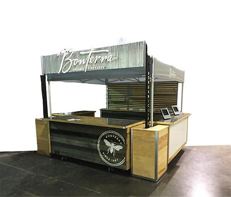 Experiential Marketing Kiosk for Serving
