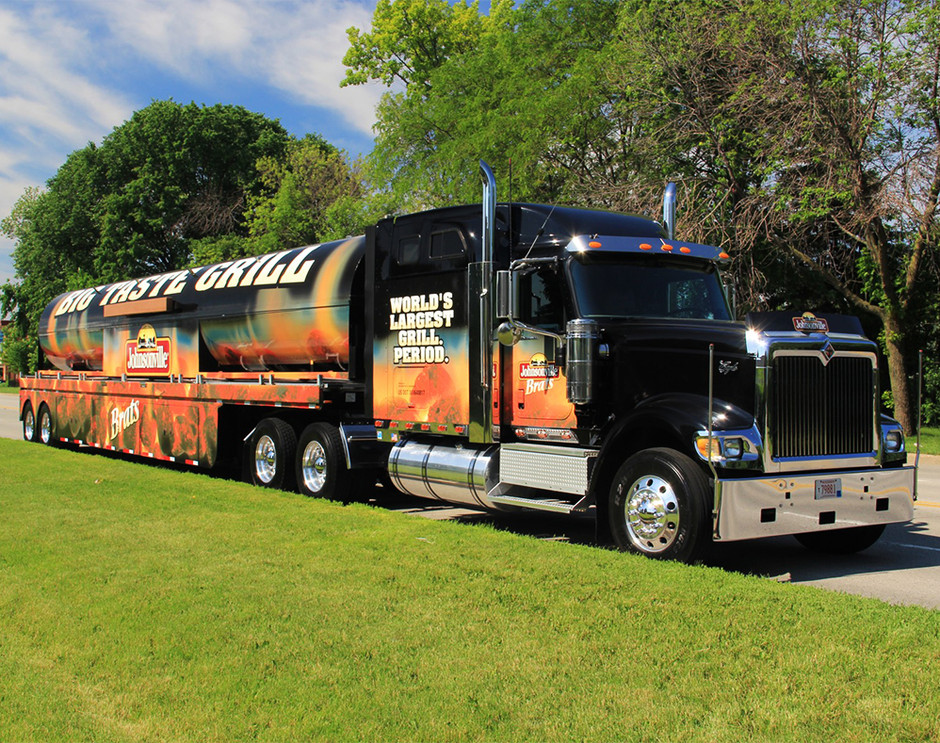 Experiential Marketing Semi Truck Builde
