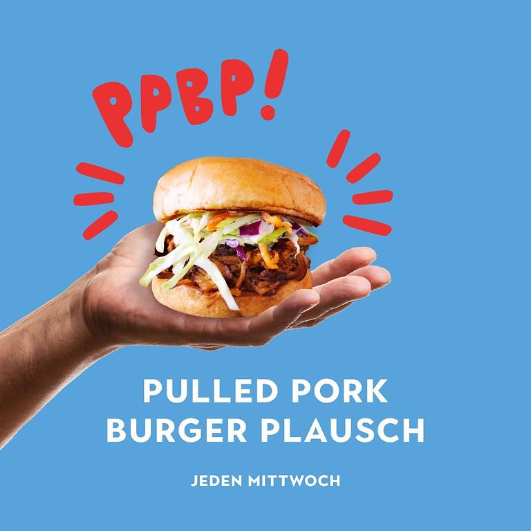 Pulled Pork Burger Plausch (jeden Mittwoch)