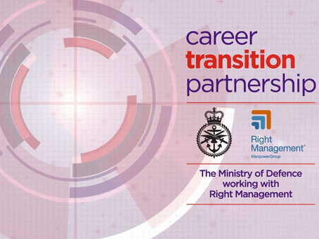 Triangle register with CTP (Careers Transition Partnership)