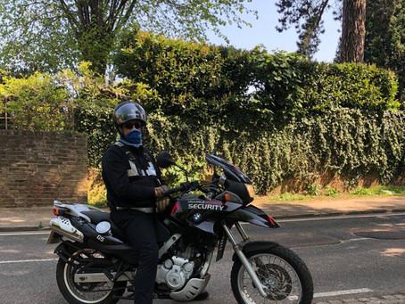 What's the benefits of having motorbike patrols?