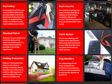 Protection packages for you, your family and your business