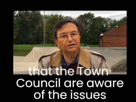 Triangle Security working with Waltham Abbey council to keep Town Mead safe.