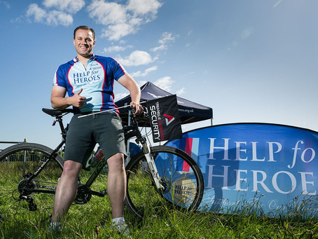 Triangle raising money for 'Help For Heroes'
