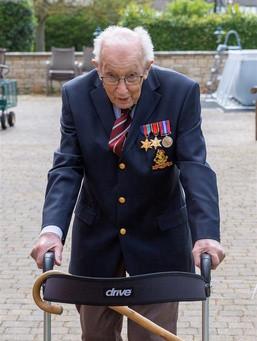 Happy 100th Birthday Captain Tom Moore.