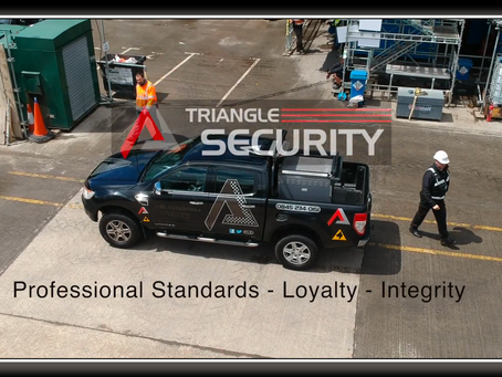 Triangle - keeping our building sites secure