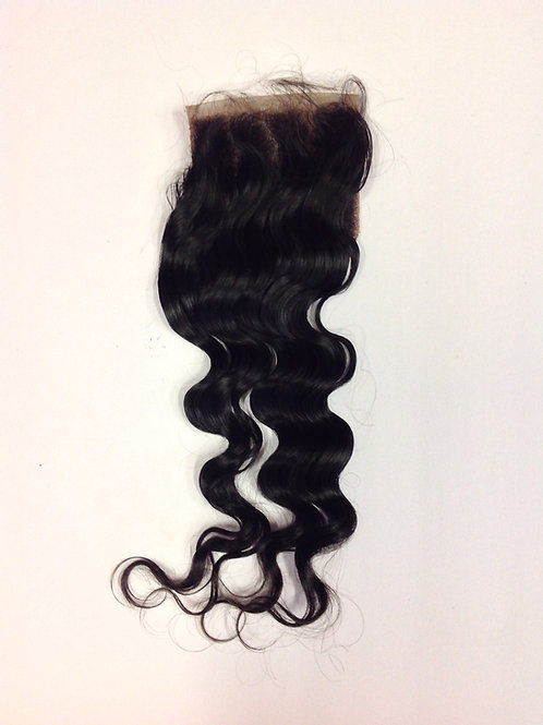 4x4 100% Human Hair Lace Closure