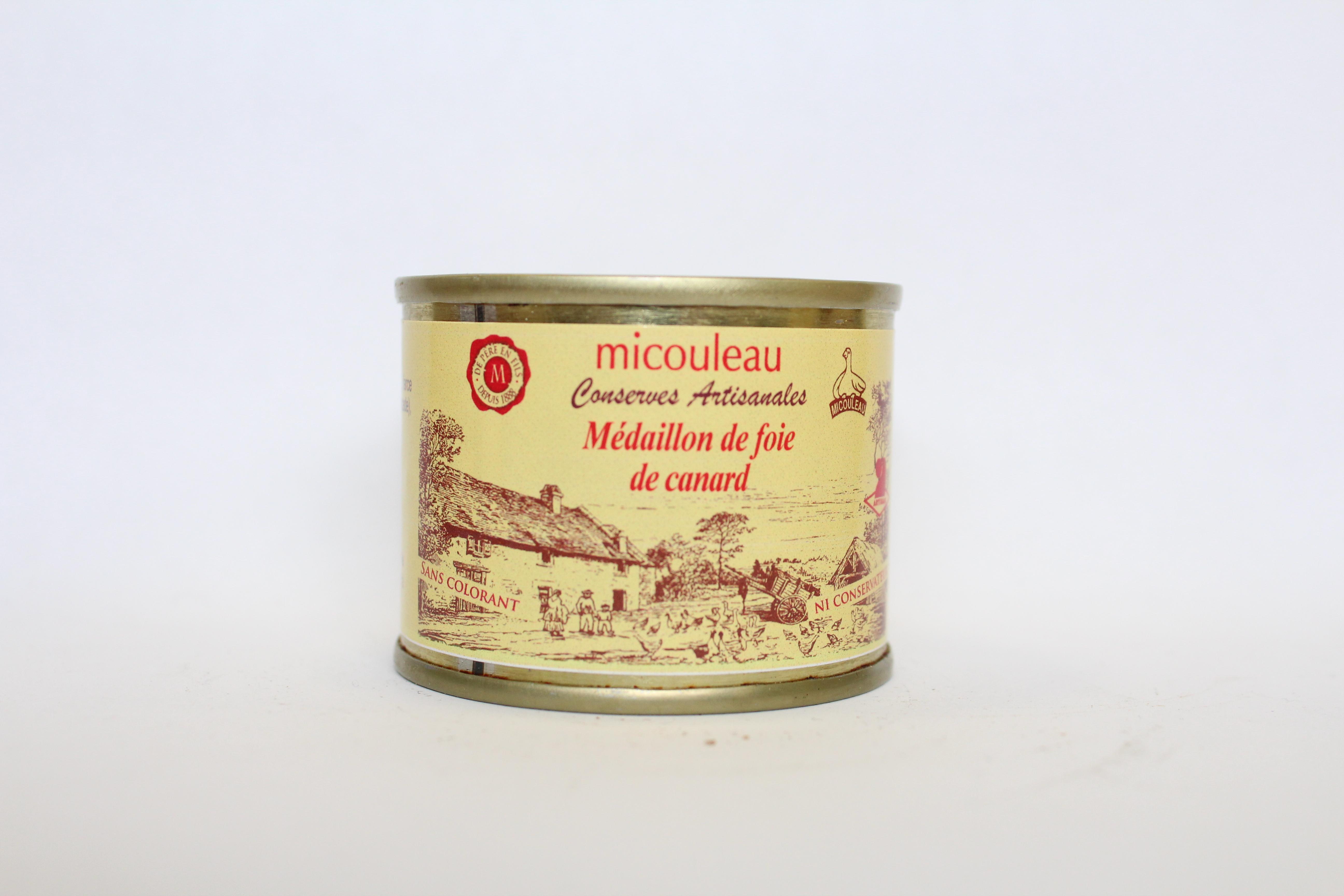 médaillon canard micouleau
