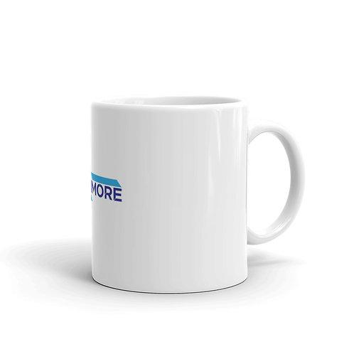 Barnmore White glossy mug