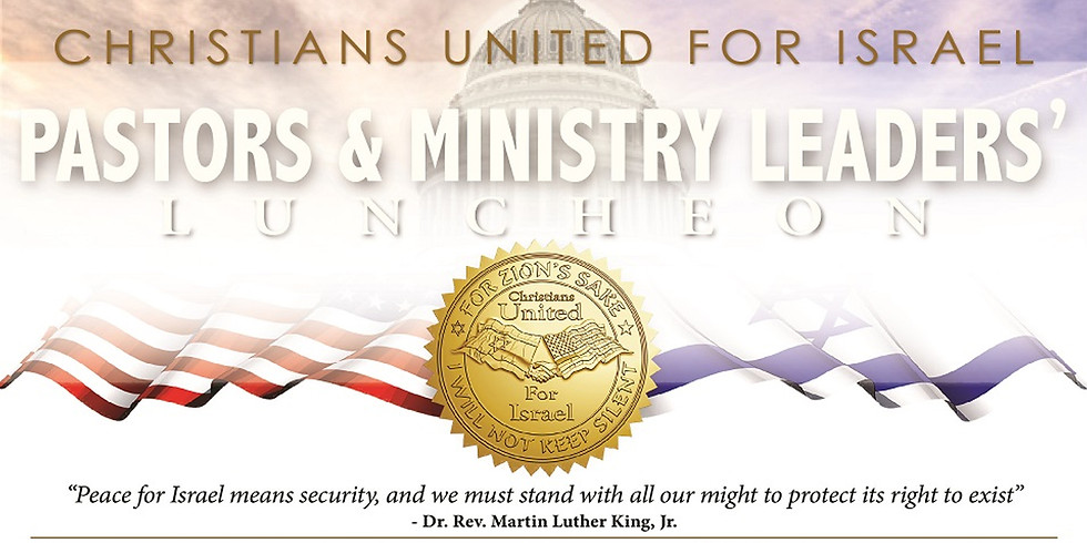 CUFI Pastors and Leaders Luncheon