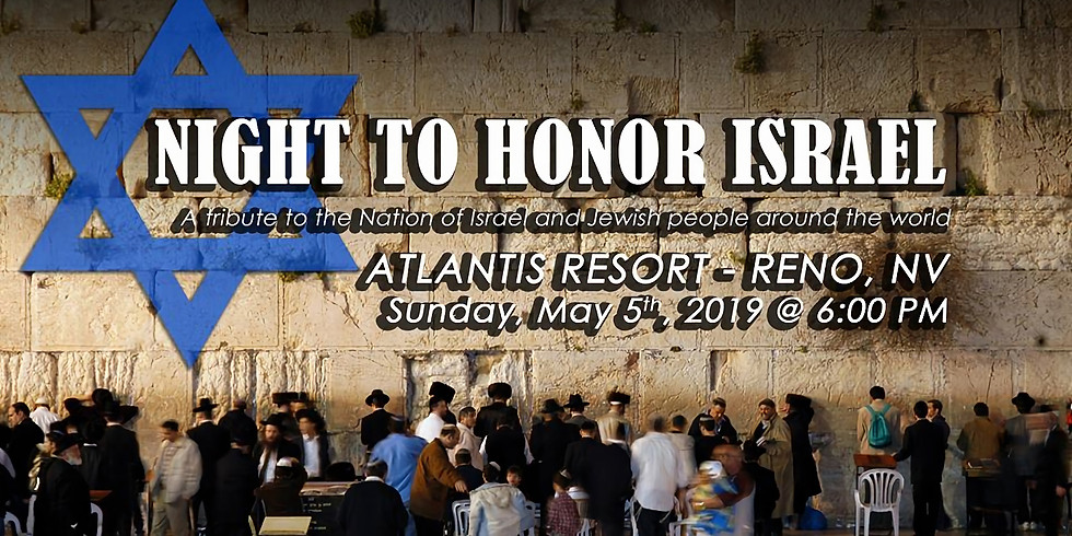 5th Reno/Sparks Night to Honor Israel 2019