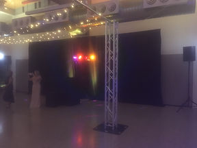 Curtain Drape Hire Wedding Event