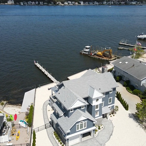 New Construction Bayfront Home